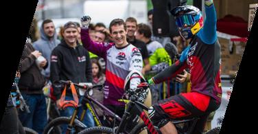 Tomas Slavik took a win at Urban DH Grasse 2016